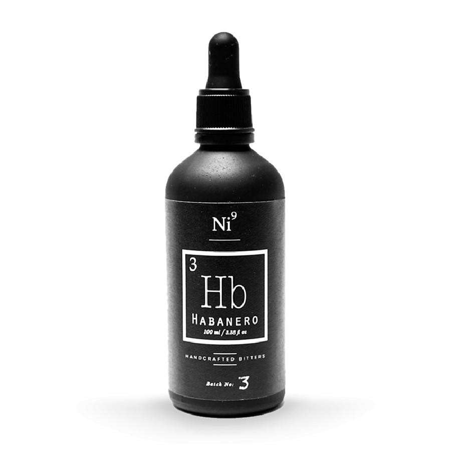 Ni9 Habanero Cocktail Bitters 100mL by Nickel9