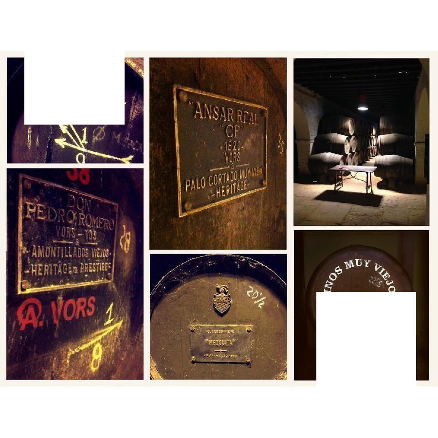 Sherry Historic Saca 4-bottle Set by Bodegas Alonso NV
