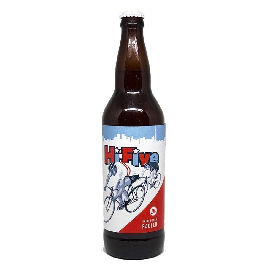 Ides of June Fruit Punch Radler Beer (650ml Bottle) 4 Pack by Henderson Brewing Co.
