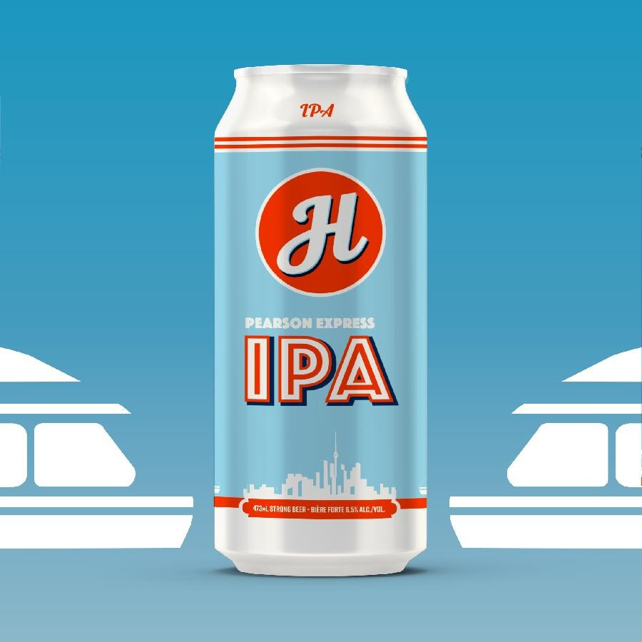 Pearson Express IPA Beer (473ml Can) 24 Pack by Henderson Brewing Co.