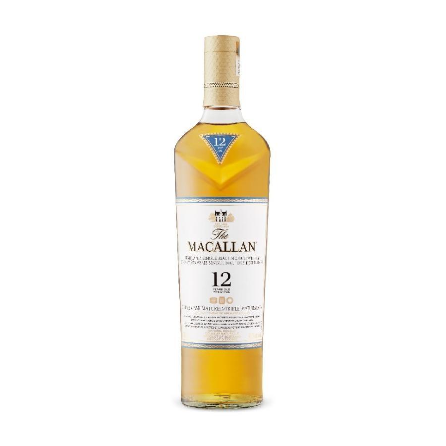 The Macallan 12-Year-Old Triple Cask Single Malt Scotch Whisky 750mL