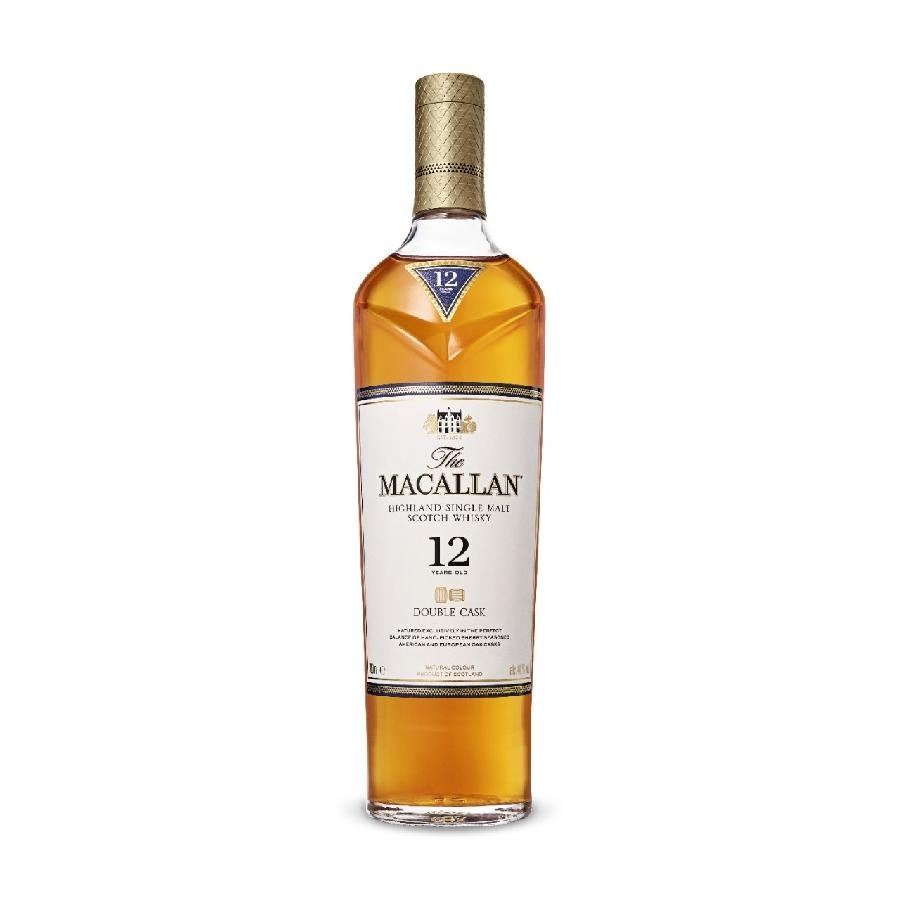 The Macallan 12 Year Old Double Cask Whisky 750mL (SAVE $5/BOTTLE)
