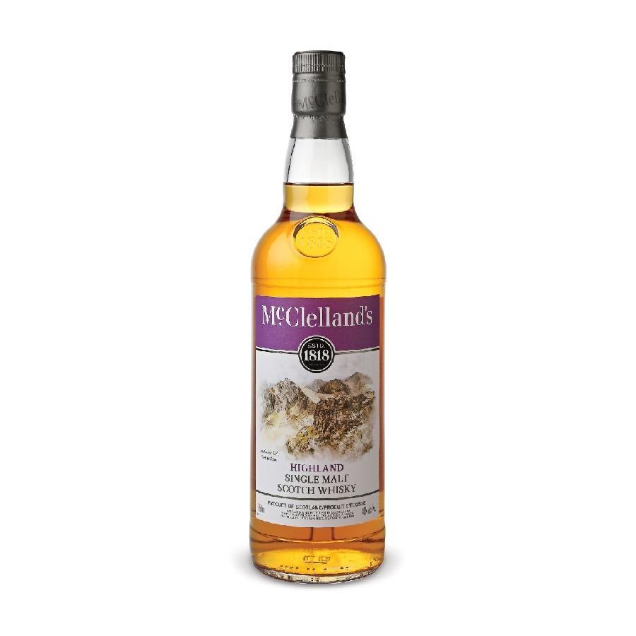 McClelland's Highland Single Malt Scotch Whisky 750mL