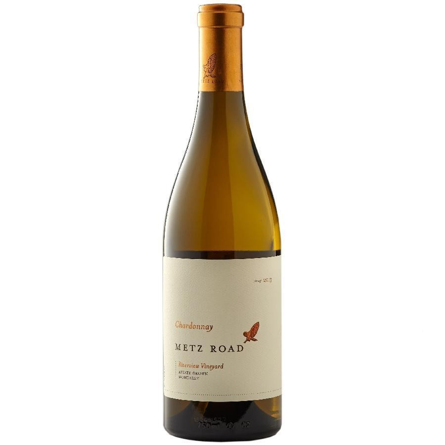 Chardonnay Riverview Vineyard Monterey Case of 3 by Metz Road Wines 2014