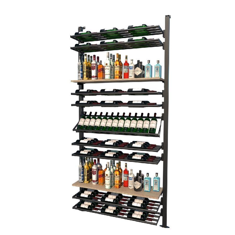 Frontenac Modular Wine Storage Rack 157 Bottle Capacity (Easy Self Assembly) by La Vieille Garde