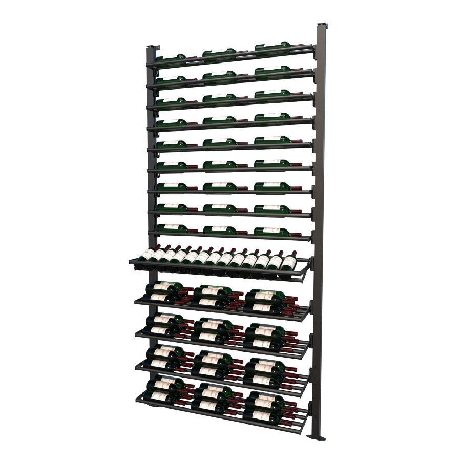 Frontenac Modular Wine Storage Rack 76 Bottle Capacity (Easy Self Assembly) by La Vieille Garde