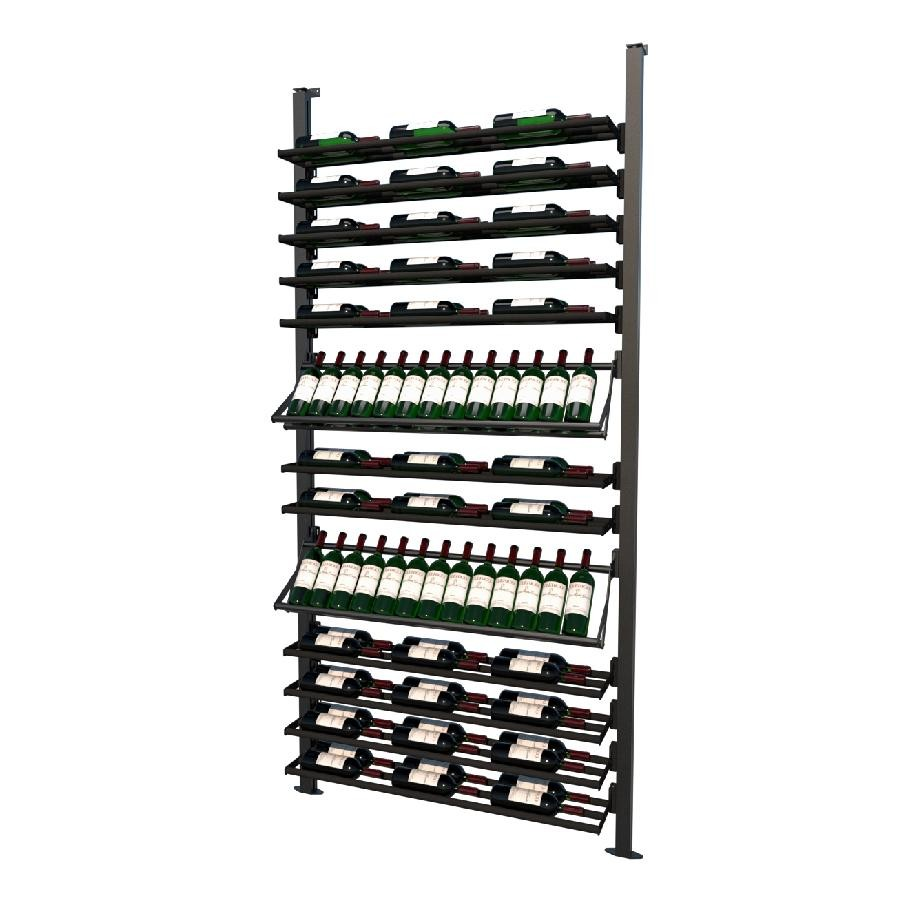 Frontenac Modular Wine Storage Rack 92 Bottle Capacity (Easy Self Assembly) by La Vieille Garde