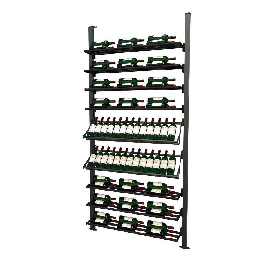 Frontenac Modular Wine Storage Rack 89 Bottle Capacity (Easy Self Assembly) by La Vieille Garde