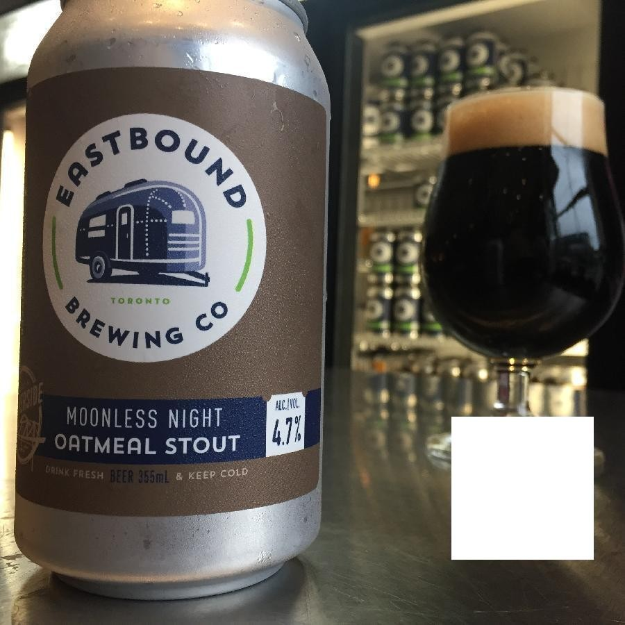 Moonless Night Oatmeal Stout Craft Beer by Eastbound Brewing Co.