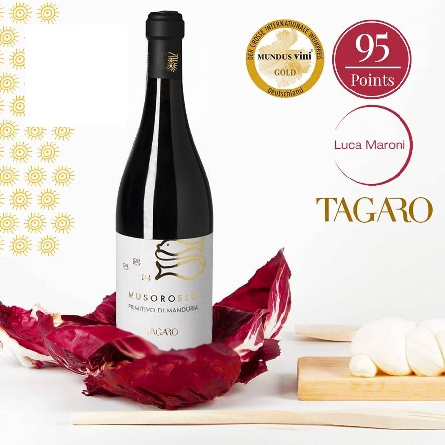 Muso Rosso Primitivo di Manduria DOC by Tagaro 2017