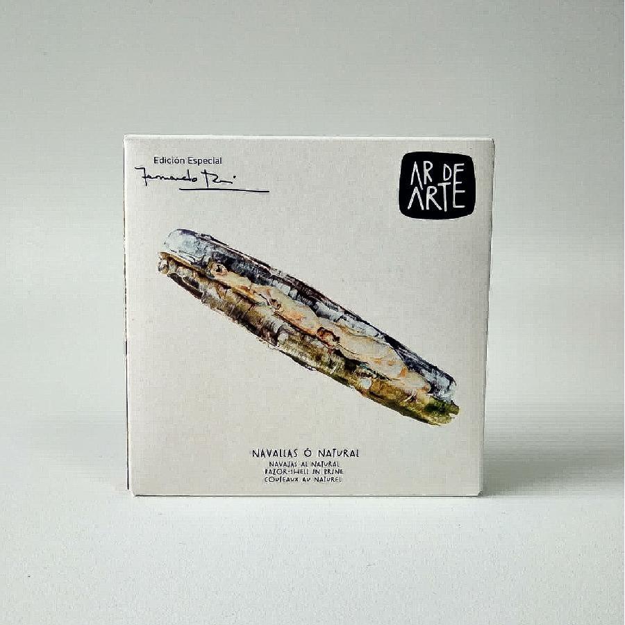 Ar De Arte Razor Shell Clams in Brine (115g) Fernando Rei Special Edition