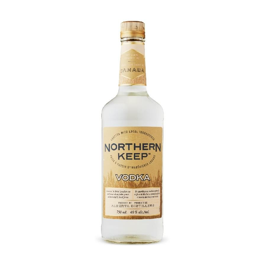 Northern Keep Vodka 750mL