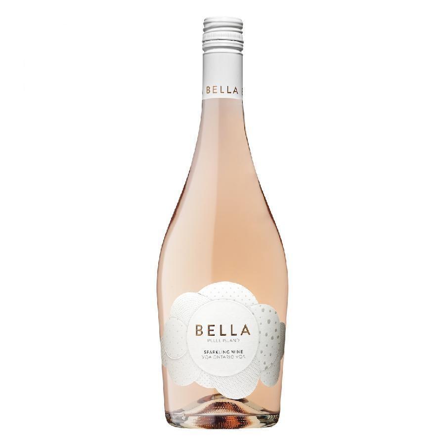 Bella Sparkling Pinot Noir Rosé VQA by Pelee Island Winery 2019