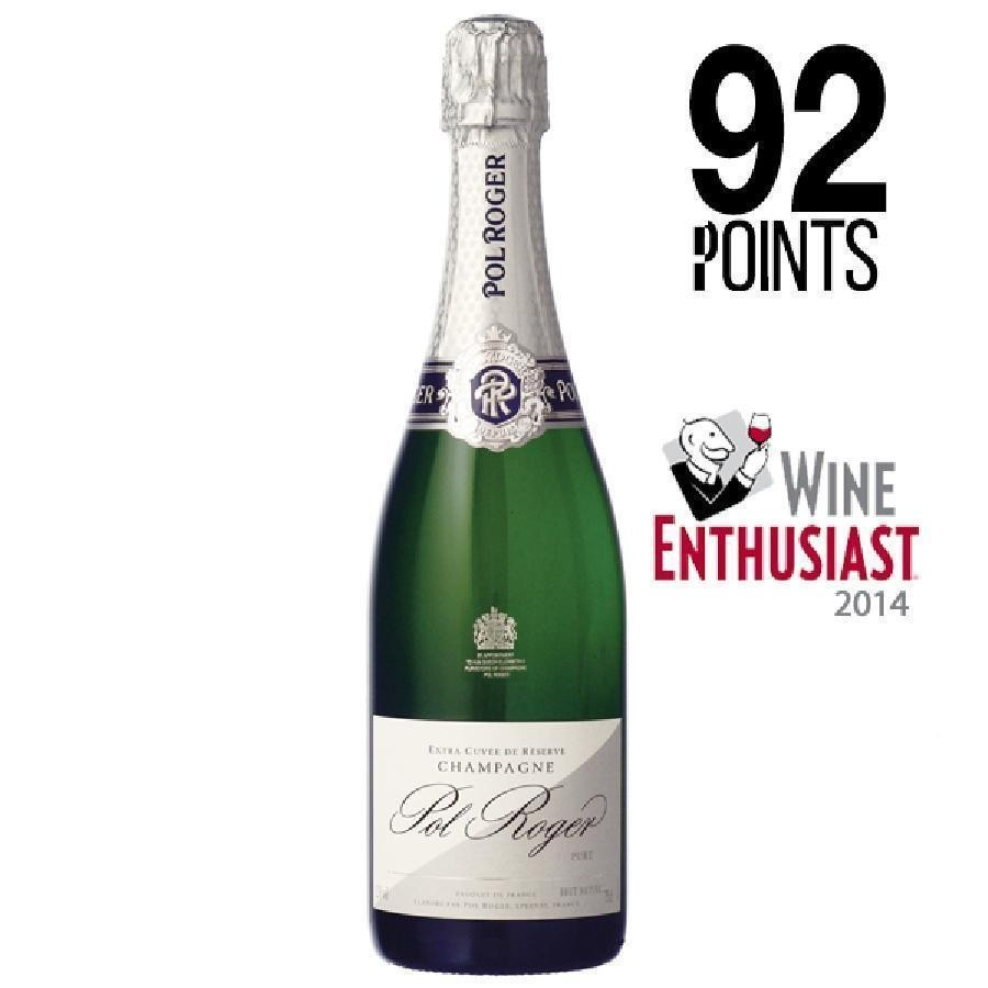 Champagne Extra Brut Pure by Pol Roger N/V