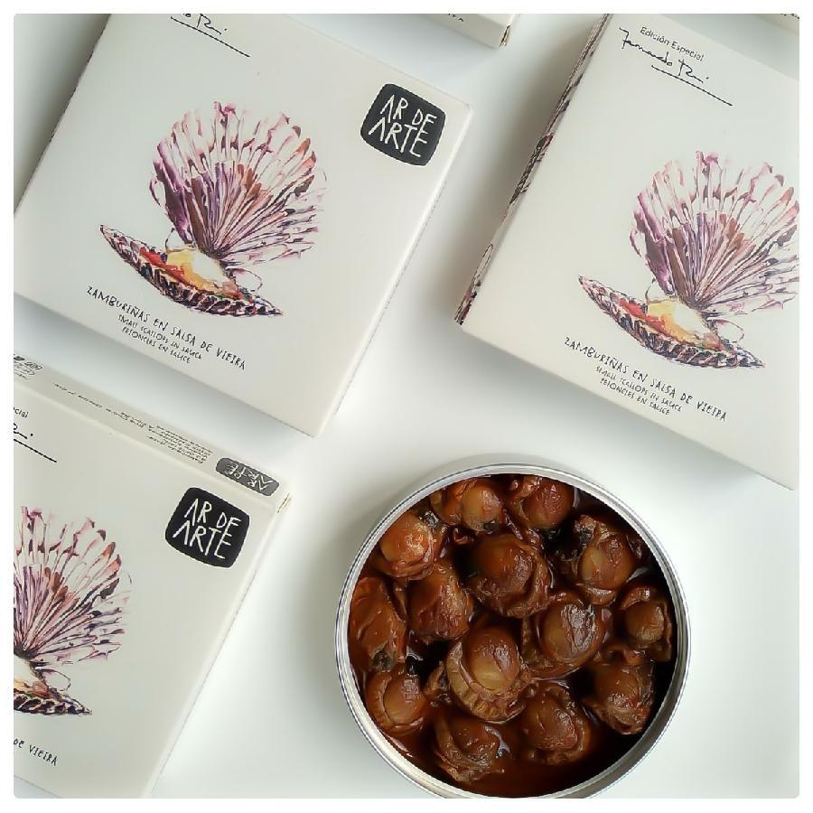 Ar De Arte Scallops in Sauce (110g) Fernando Rei Special Edition