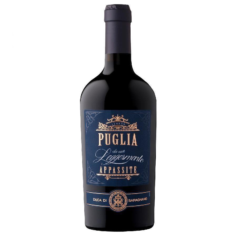 Puglia Rosso da Uve Leggermente Appassite by Duca di Saragnano 2019