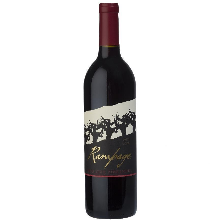 Lodi Old Vine Zinfandel by Rampage Wine 2012