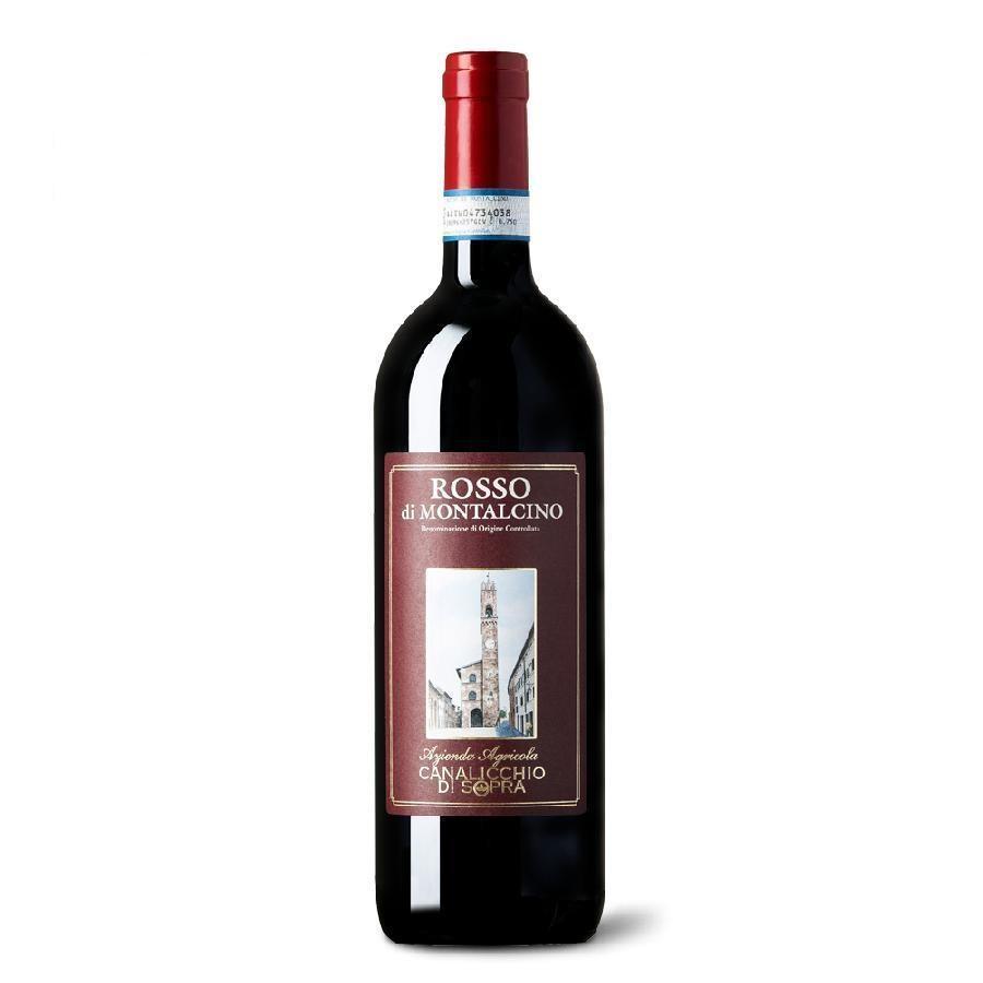 Rosso di Montalcino DOC by Canalicchio di Sopra 2018