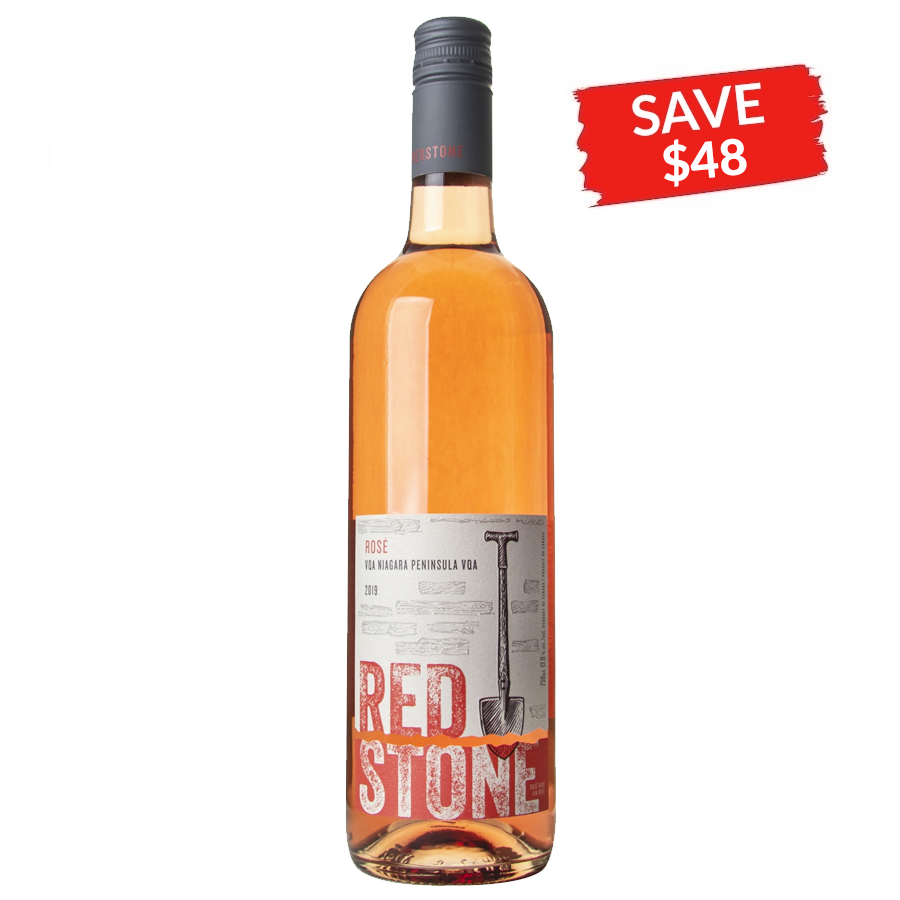 Redstone VQA Niagara Peninsula Rosé 2019 (SAVE $48/CASE)