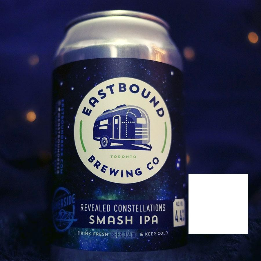 Revealed Constellations SMASH IPA India Pale Ale Craft Beer by Eastbound Brewing Co.