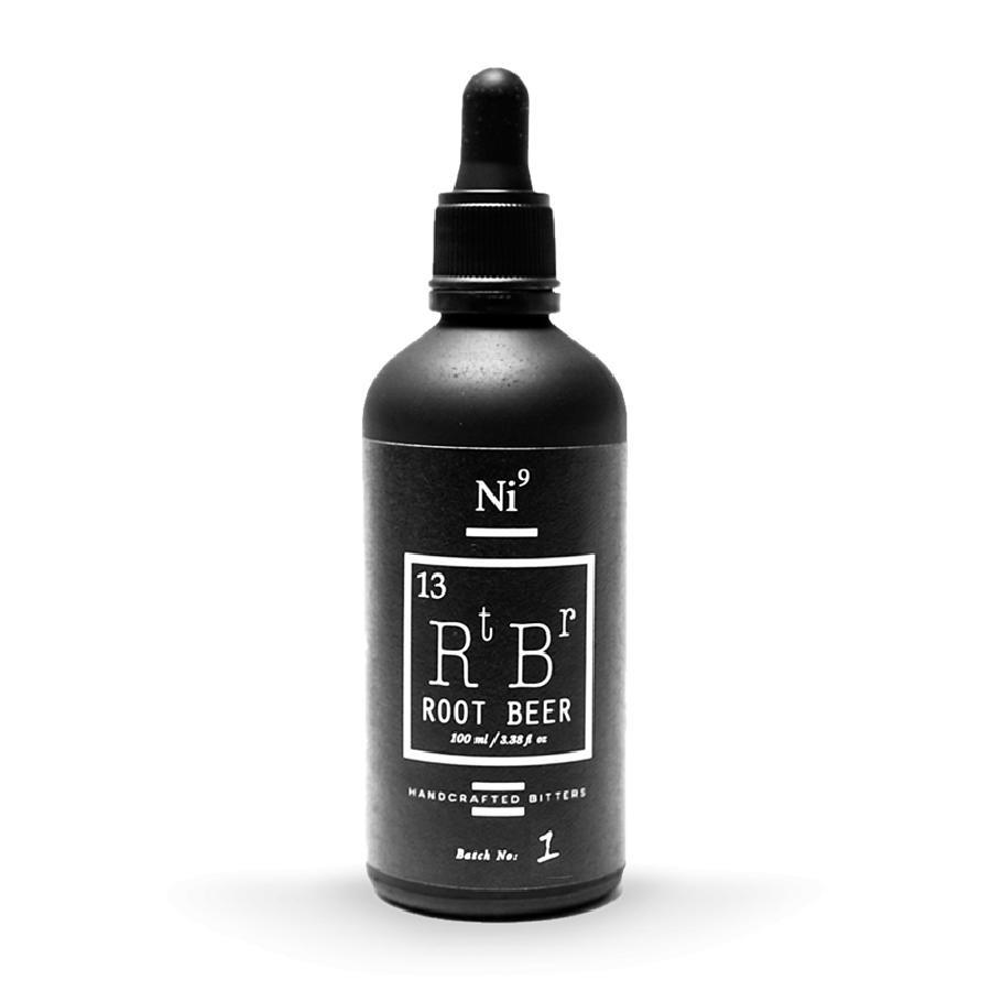 Ni9 Rootbeer Cocktail Bitters 100mL by Nickle9