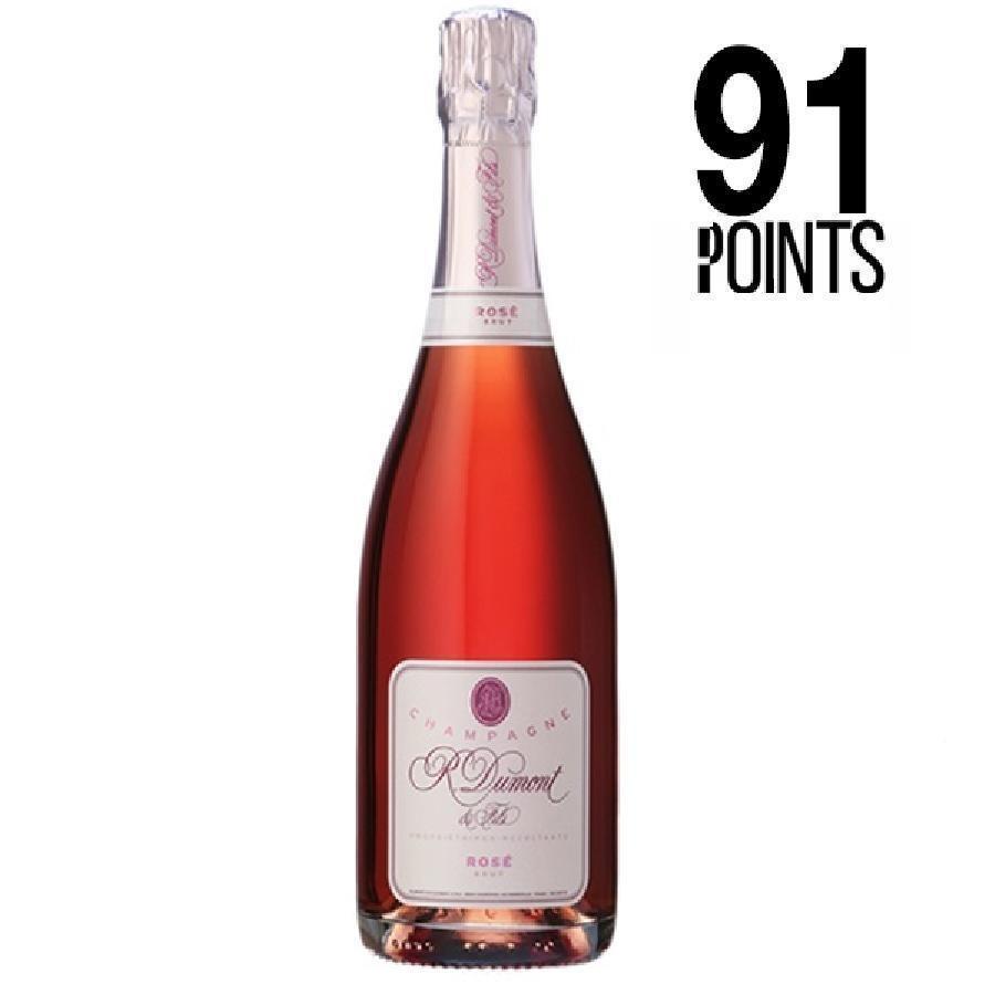 Champagne Brut Rosé by R. Dumont et Fils N/V