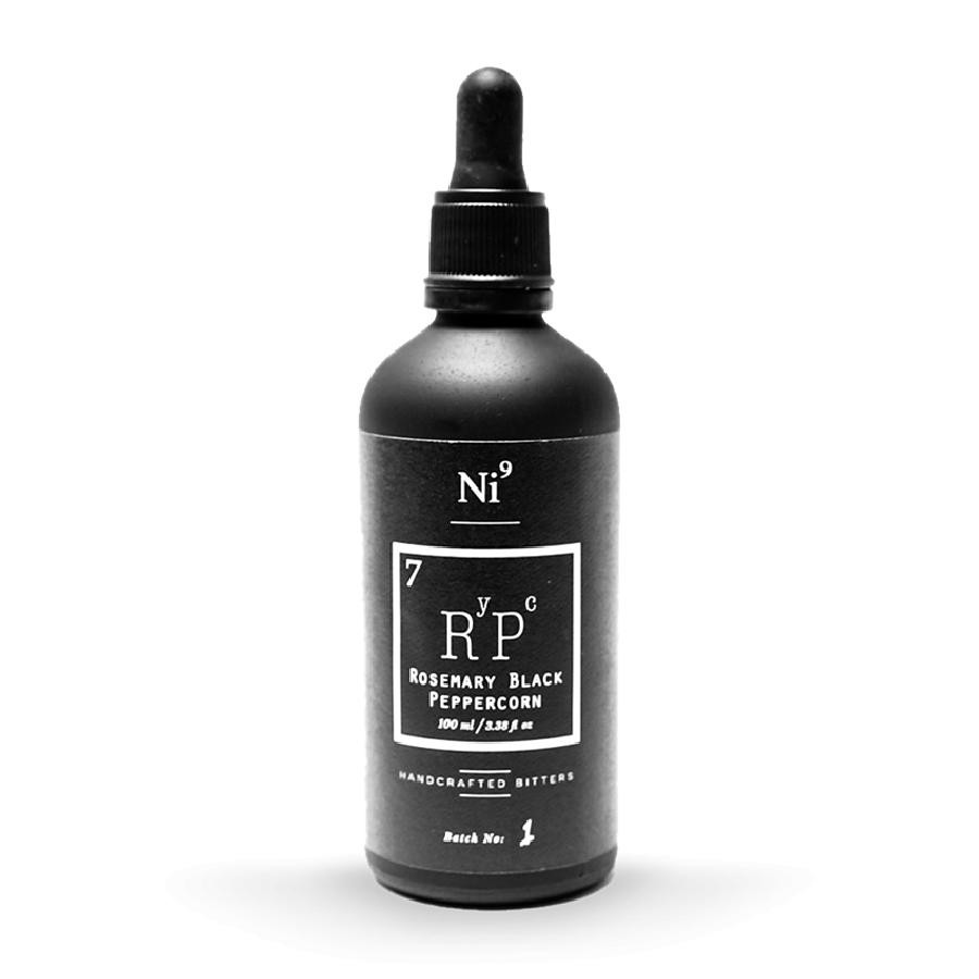 Ni9 Rosemary Black Peppercorn Cocktail Bitters 100mL by Nickle9