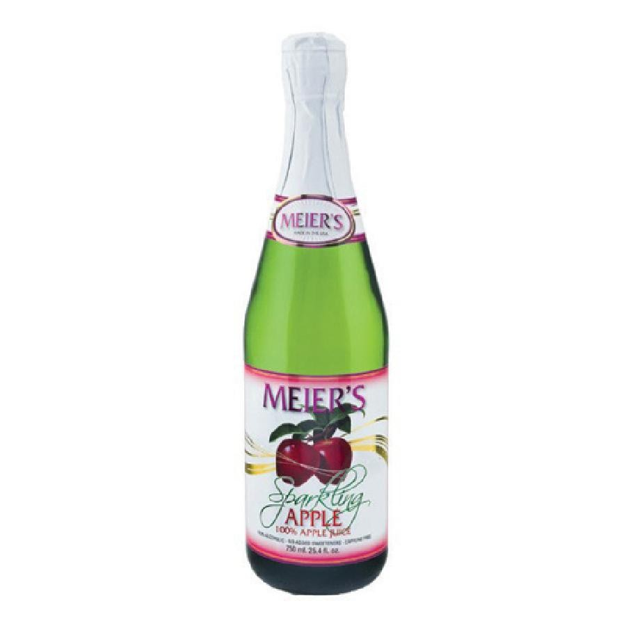 25.4oz. Meier's Sparkling Apple