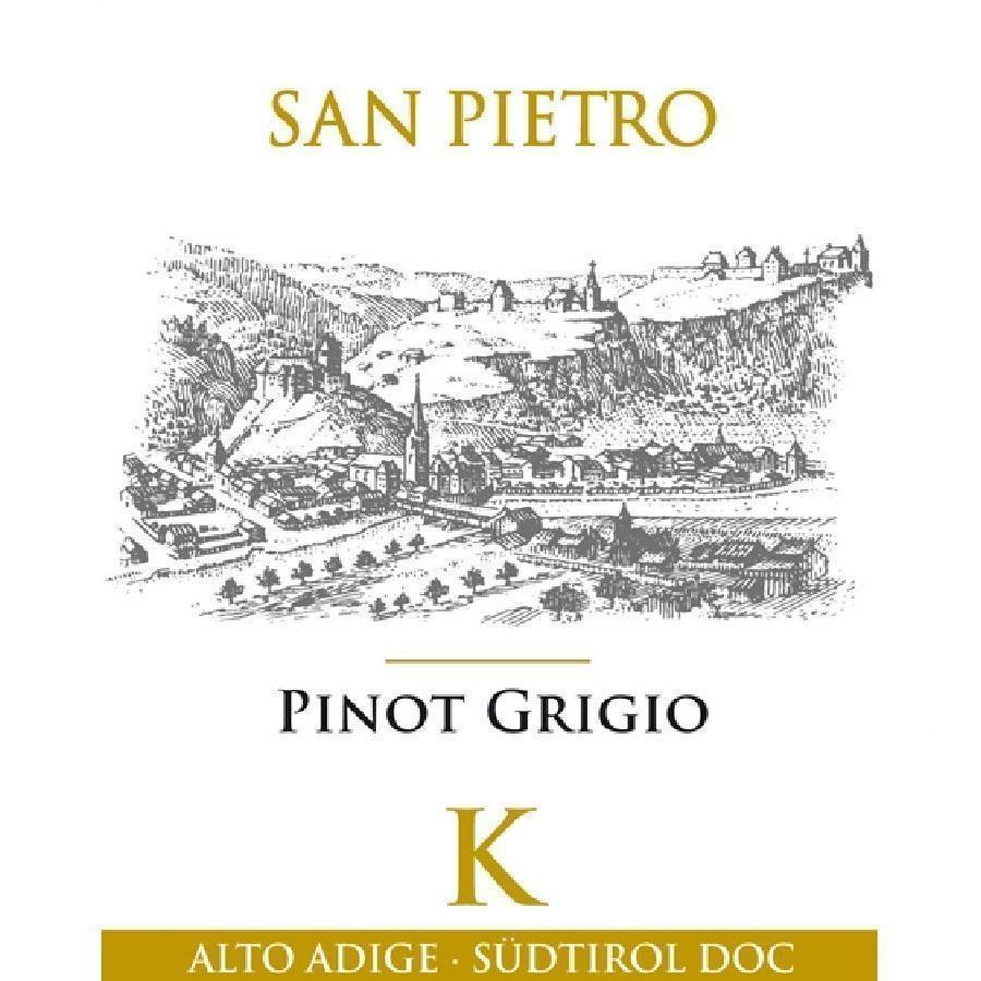 Pinot Grigio K Alto Adige by San Pietro 2017