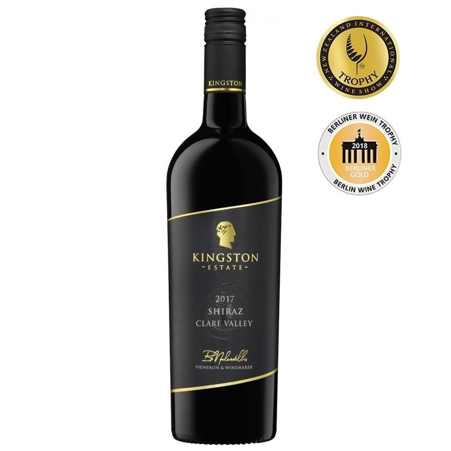 Clare Valley Shiraz by Kingston Estate 2017