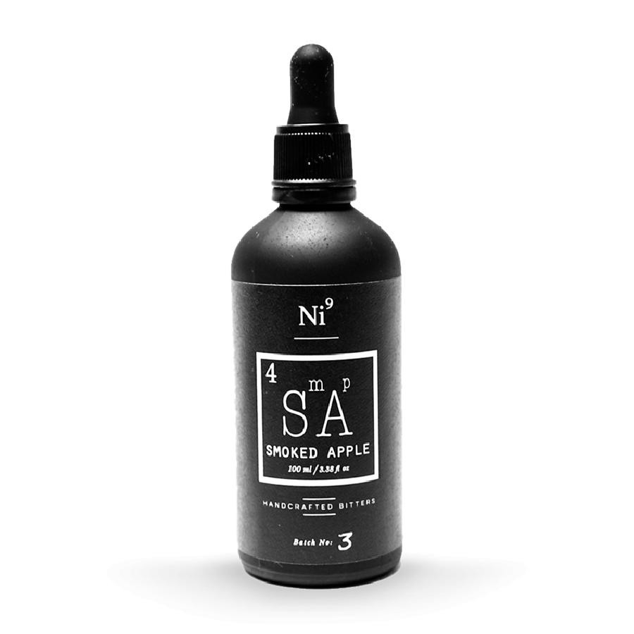 Ni9 Smoked Apple Cocktail Bitters 100mL by Nickle9