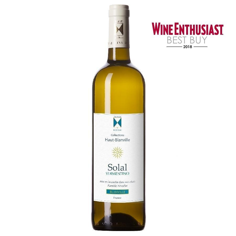 Solal Vermentino by Chateau Haut-Blanville 2017