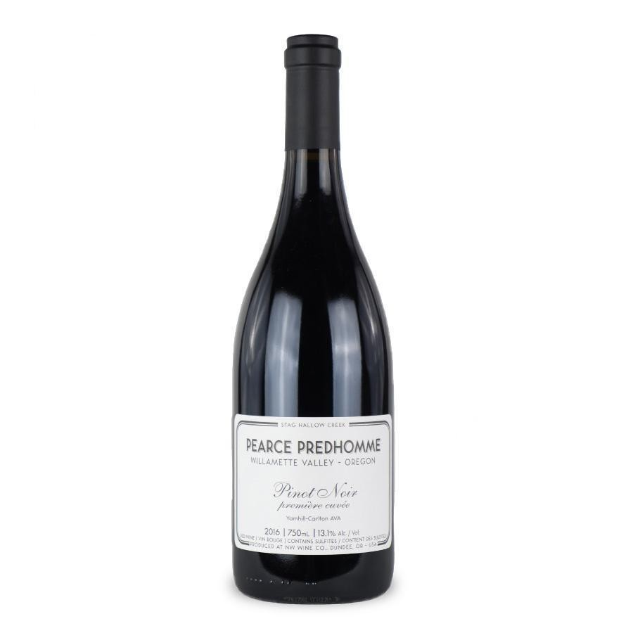 Pinot Noir Mcminnville Willamette Valley by Pearce Predhomme 2017