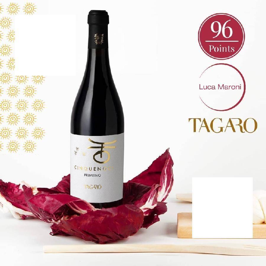 Cinquenoci Primitivo by Tagaro 2017