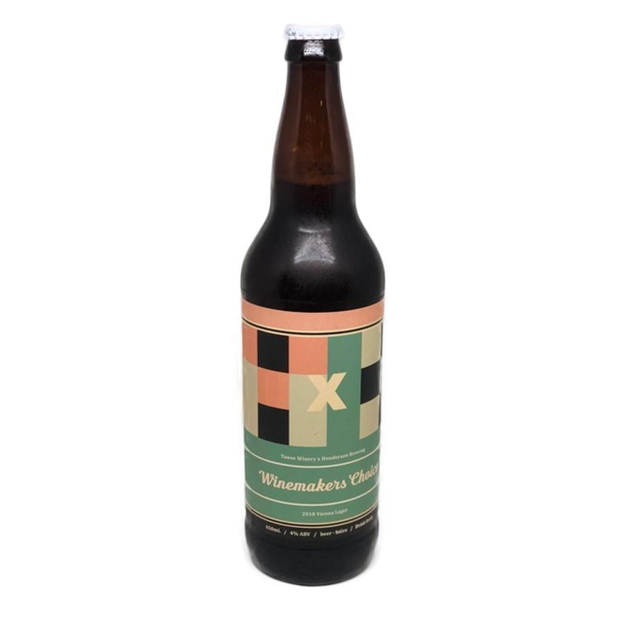 Tawse x Henderson Collaboration Brew Winemaker's Choice Craft Beer Vienna Style Amber Lager - 4 Pack (650ml Bottle)