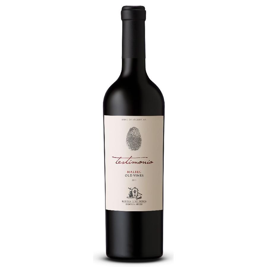 Testimonio Old Vines Malbec by Luigi Bosca 2018