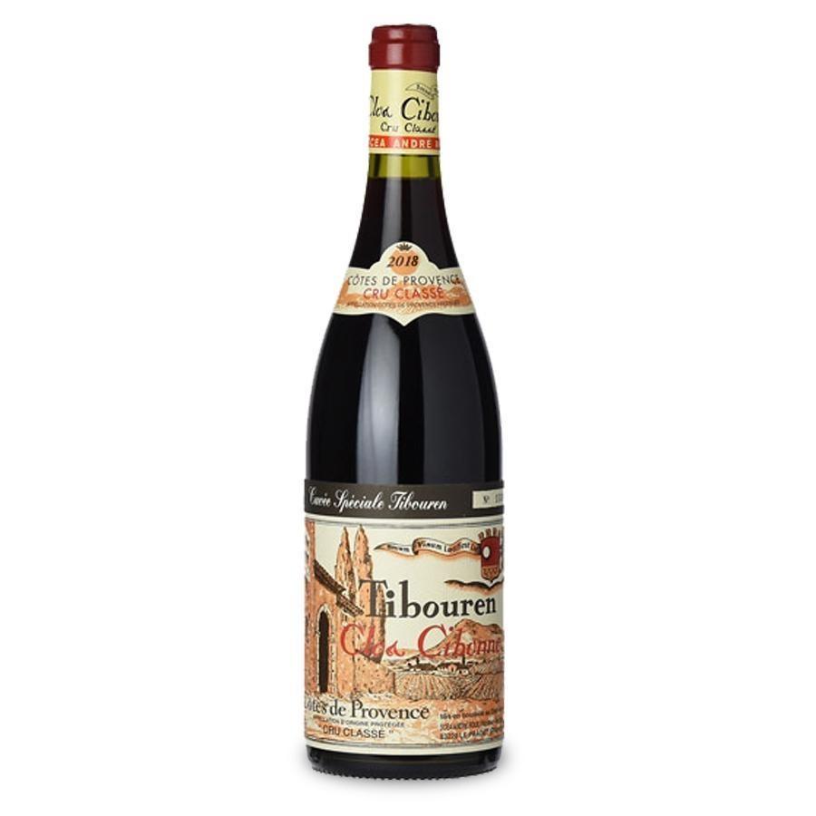 Tibouren Cuvée Tradition Côtes de Provence Cru Classé Rouge by Clos Cibonne 2018
