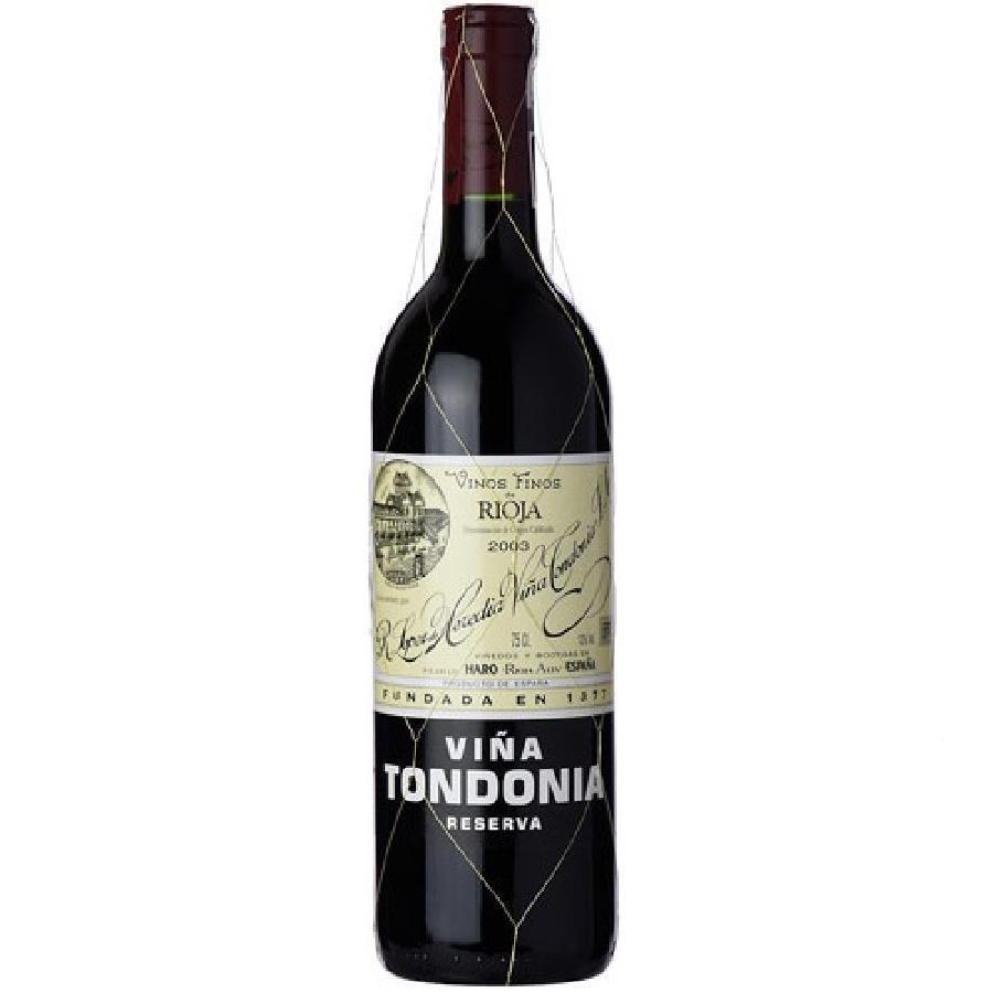 Viña Tondonia Rioja Reserva by Lopez de Heredia 2003