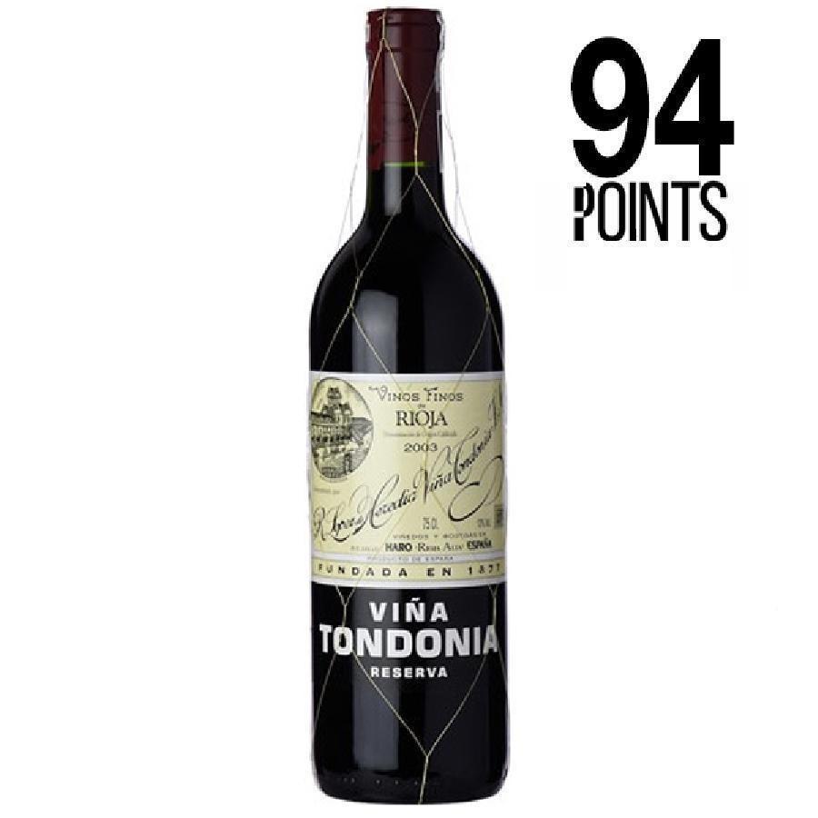 Viña Tondonia Rioja Reserva by Lopez de Heredia 2004