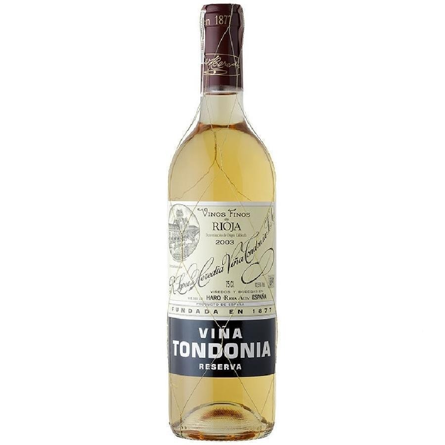 Viña Tondonia Rioja Reserva Blanco by Lopez de Heredia 2004