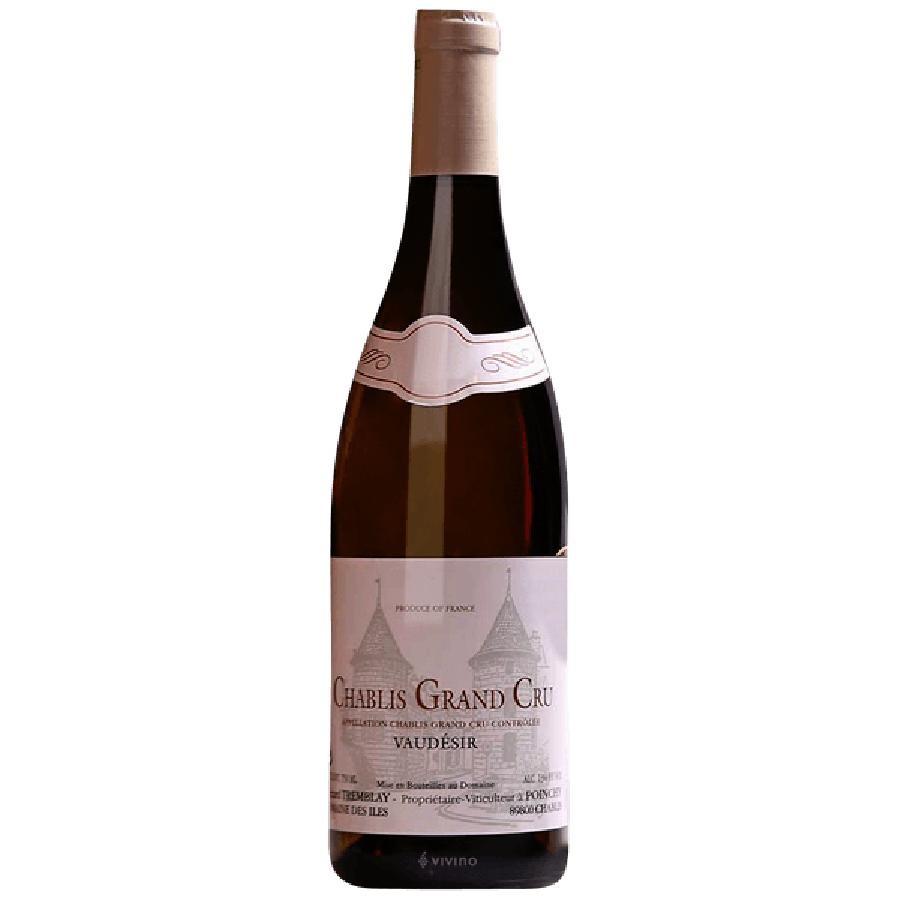 Chablis Grand Cru Vaudesir by Gerard Tremblay 2018