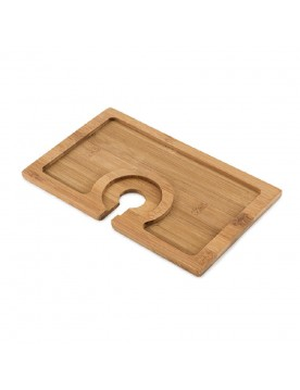 Buffet Bamboo Appetizer Plate by True