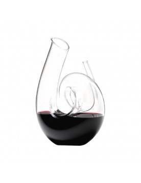 Curly Clear Decanter by Riedel