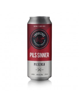Pils-Sinner Craft Beer by Innocente Brewing Company
