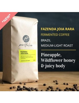 Fazenda Joia Rara Fermented Brazilian Coffee (1lb) Medium-Light Roast by Portfolio