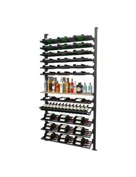 Frontenac Modular Wine Storage Rack 157 Bottle Capacity (Easy Self Assembly) by La Vieille Garde