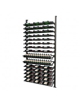 Frontenac Modular Wine Storage Rack 143 Bottle Capacity (Easy Self Assembly) by La Vieille Garde