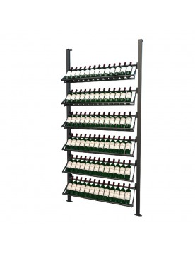 Frontenac Modular Wine Storage Rack 78 Bottle Capacity (Easy Self Assembly) by La Vieille Garde