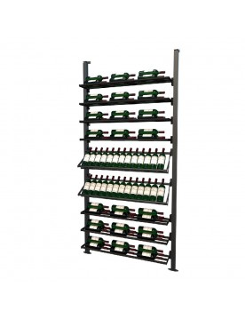 Frontenac Modular Wine Storage Rack 89 Bottle Capacity (Easy Self Assembly) by La Vieille Garde