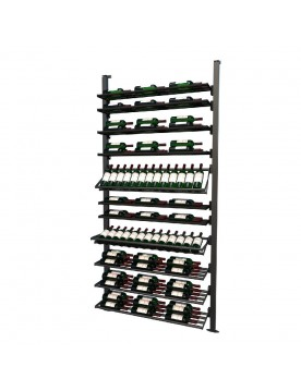 Frontenac Modular Wine Storage Rack 113 Bottle Capacity (Easy Self Assembly) by La Vieille Garde